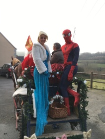 La Reine des Neiges et Spiderman, les invités surprises !